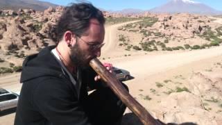 Chiguana Desert, Bolivia (didgeridoo jam)