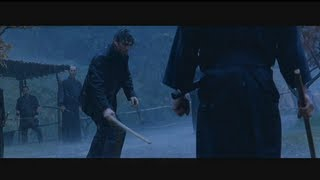 Last Samurai - Rain Fight Scene [HD]