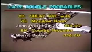 1982 Yonkers Raceway FIGHT THE FOE Carmine Abbatiello