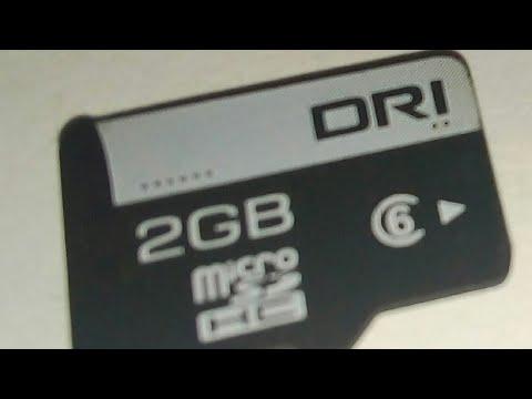 Как починить карту памяти MicroSD
