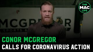 Conor McGregor urges Irish leaders to act now and lockdown the country as coronavirus spreads
