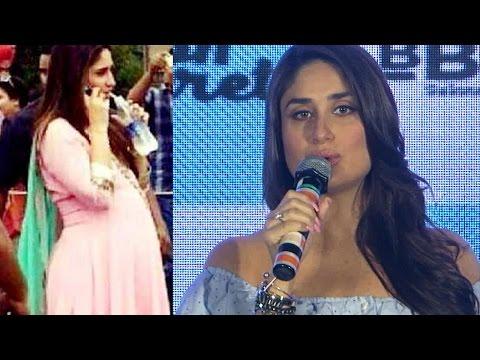 Kareena Kapoor Flaunts BABY BUMP in Veeray...