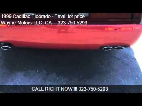 1999 Cadillac Eldorado Touring Coupe for sale in Los Angeles