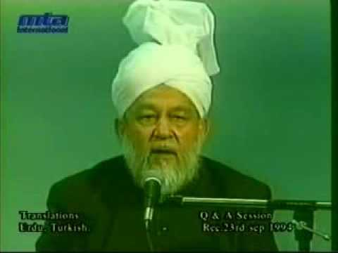 Question & Answer Session 23 September 1994