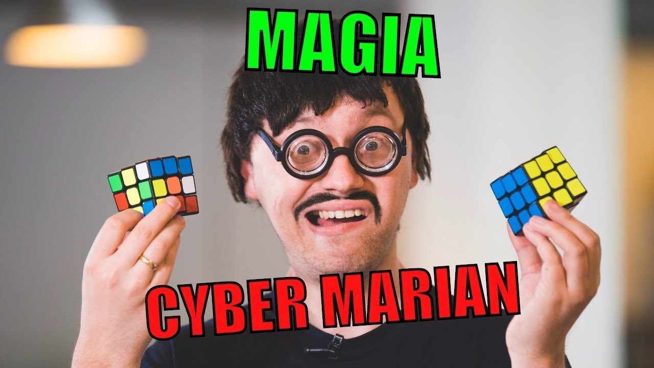 JAK UŁOŻYĆ KOSTKĘ RUBIKA? CYBER MARIAN – Magia Y – Magic of Y