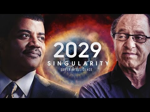 2029 : Singularity Year  - Neil deGrasse Tyson &  Ray Kurzwe