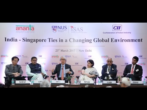 India - Singapore Ties in Changing Global Environment