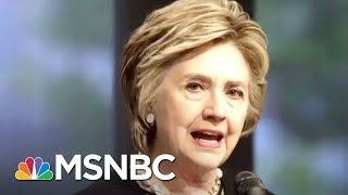 Donald Trump Reignites Feud With 'Crooked Hillary' In Late Night Tweets | The 11th Hour | MSNBC 2017 Video