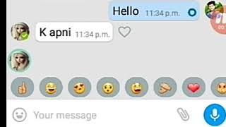 Boyfriend Girlfriend WhatsApp Conversation - Heart Touching bf gf Chat Bangla