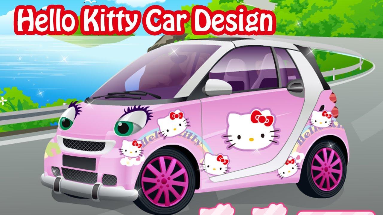 Hello Kitty Smart Car Design