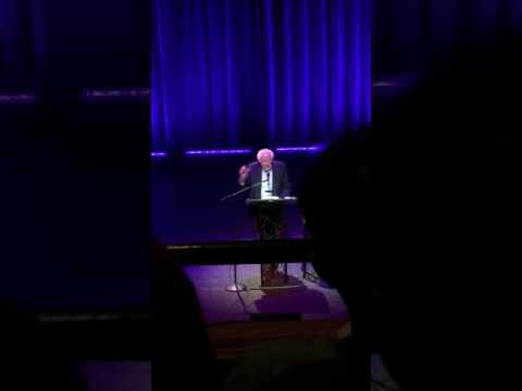 "Senator Bernie Sanders ""Our Revolution"" speaking event Berklee, Boston MA 11/20/16 pt 1"
