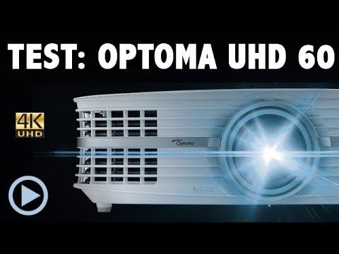 OPTOMA UHD 60 4K Beamer Test Vorstellung