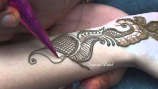 Latest Mehndi Designs 2013 Step by Step #57
