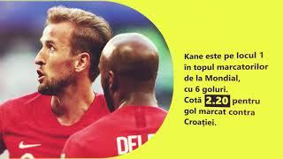 Croația Anglia, semifinală