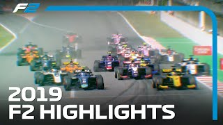 2019 FIA Formula 2 Season Highlights