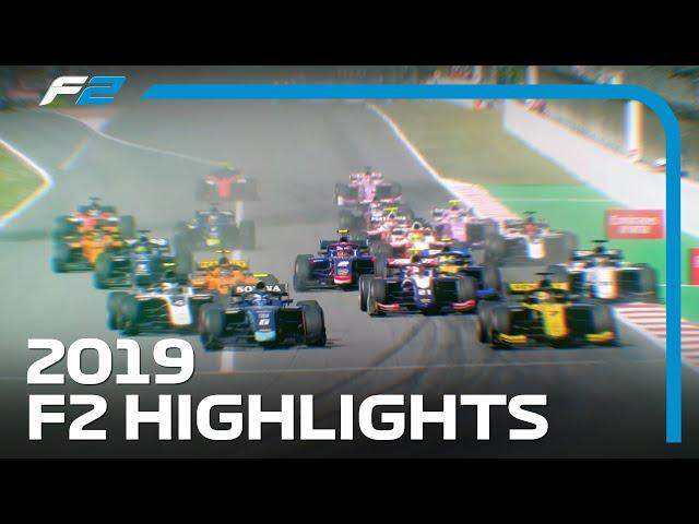 2019 FIA Formula 2 Season Highlights