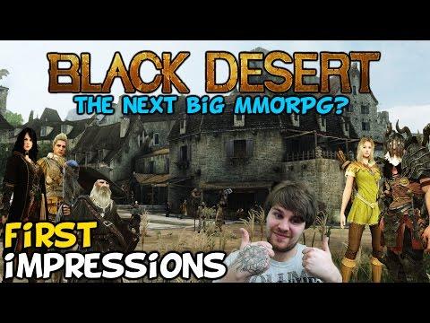 Black Desert Online First Impressions