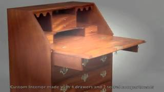 Making A Slant Front Desk By Doucette And Wolfe Furniture Makers