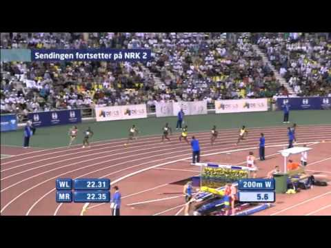 200m Women Doha Diamond League 2013