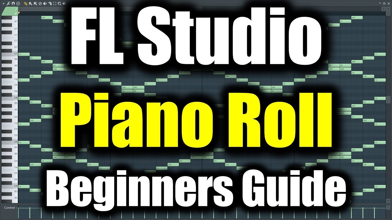 FL STUDIO PIANO ROLL TUTORIAL | How to Use Piano Roll in FL
