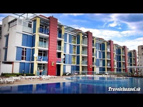 Elit IV.*** Aparthotel, Sunny Beach - Bulgaria (Travel Channel Slovakia)