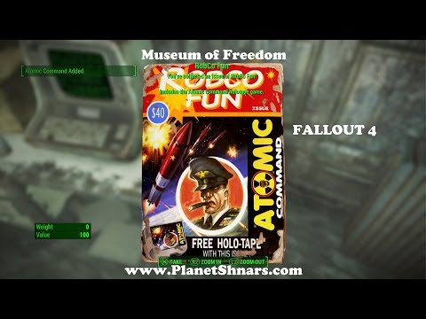 Robco Fun Magazine - Atomic Command -  Museum of Freedom - Concord - Fallout 4