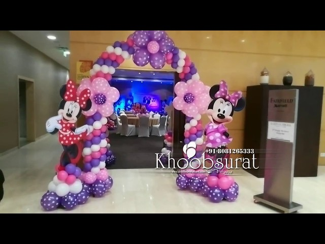 minni mouse theme decoration by khoobsurat event 8081265333