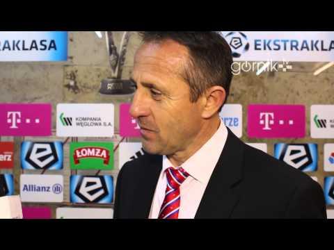 Robert Warzycha o meczu z Ruchem Chorzów (04.05.2014)