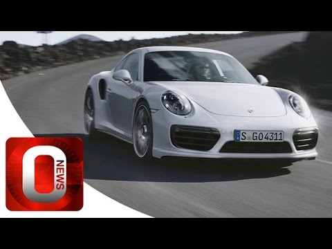 New Porsche 911 Turbo S • 580 HP • OFFICIAL Promo Film [HD] (Option Auto News)