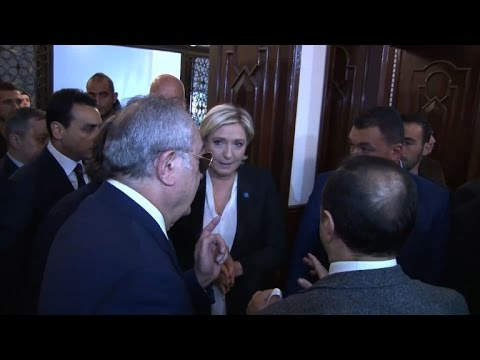 Le Pen sparks Lebanon controversy by refusing to wear veil