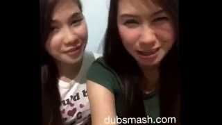 After work dubsmash with dear sissy. lol #haggardfaces #yowcrazies