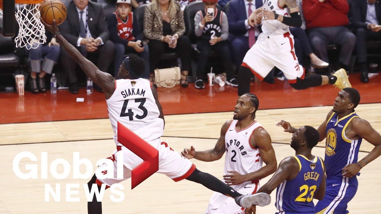 NBA Finals Game 2: Warriors at Raptors