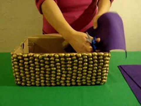 Como hacer un cofrecito youtube - Manualidades con cajas de zapatos ...