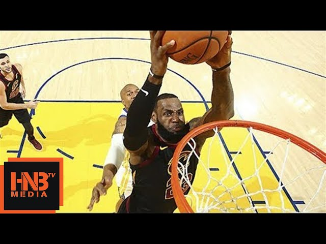 Cleveland Cavaliers vs Golden State Warriors 1st Half Highlights / Game 1 / 2018 NBA Finals