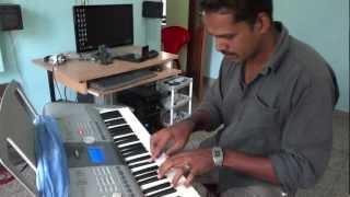 manikya veena on keyboard by Gopu
