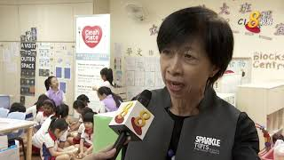 空盘零剩食运动扩规模 首度走入幼儿园