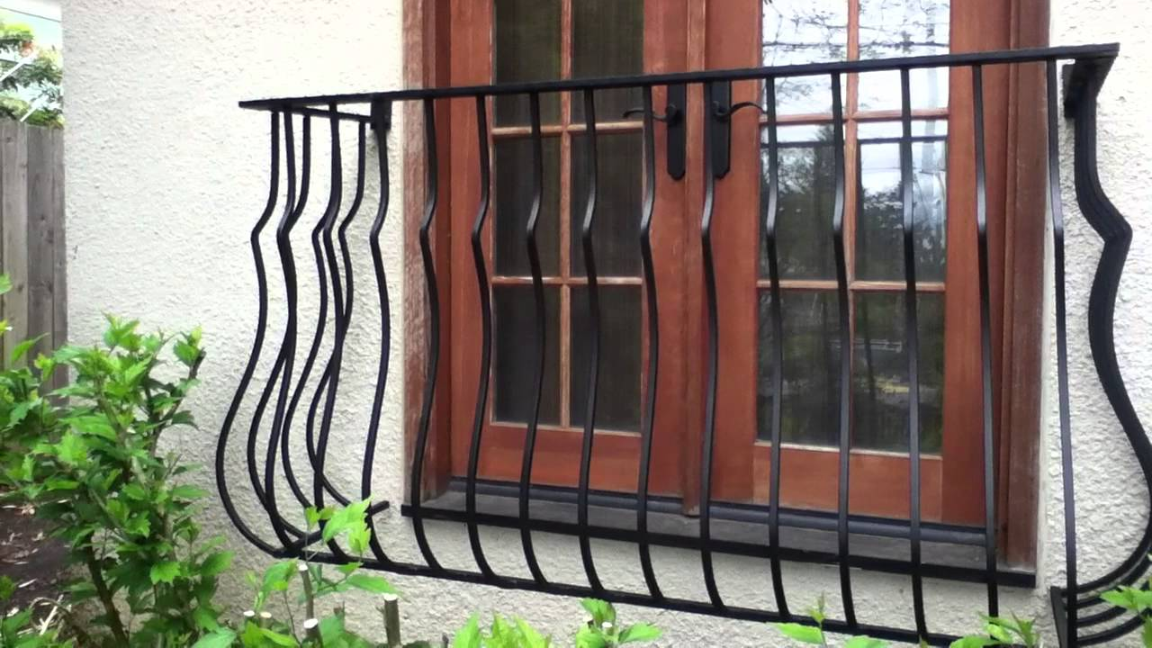 Decorative Partial Window Bars False Balcony Salvage