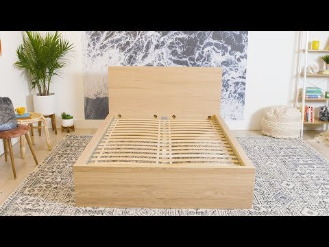 How To Build An Ikea MALM Bed Frame | House Beautiful