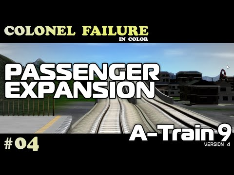A-Train 9 v4 #4 : Passenger Service Expansion