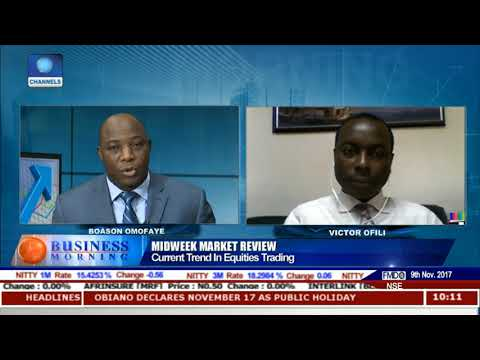 Reviewing Current Trend In Equities Trading Market Pt.2 |Business Morning|