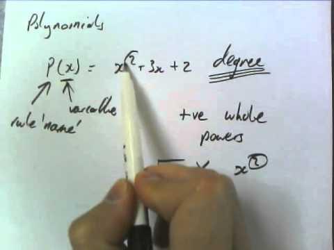 2A - Polynomials