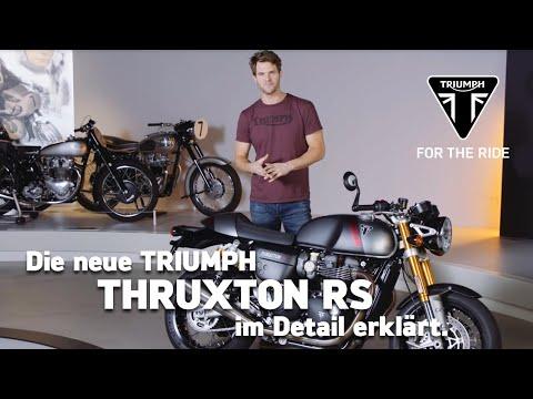 Die neue Triumph Thruxton RS - im Detail erklärt