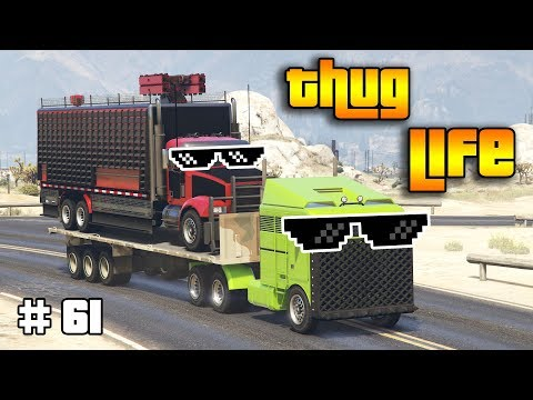 GTA 5 ONLINE : THUG LIFE AND FUNNY MOMENTS (WINS, STUNTS AND FAILS #61)