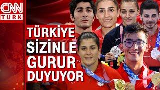 Olimpiyatlarda Türkiye'ye madalya getiren milli sporcular... 73 yıl sonra bir il