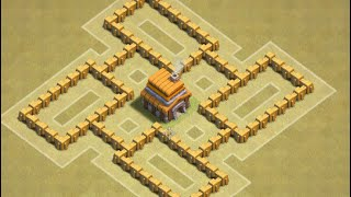 Clash of Clans TH 5 Trophy/Cw Base [Points 8,6-10]