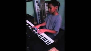 Jayden playing keyboard....killing it