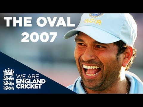 Final Over Drama At The Oval | England V India 2007 - Highlights
