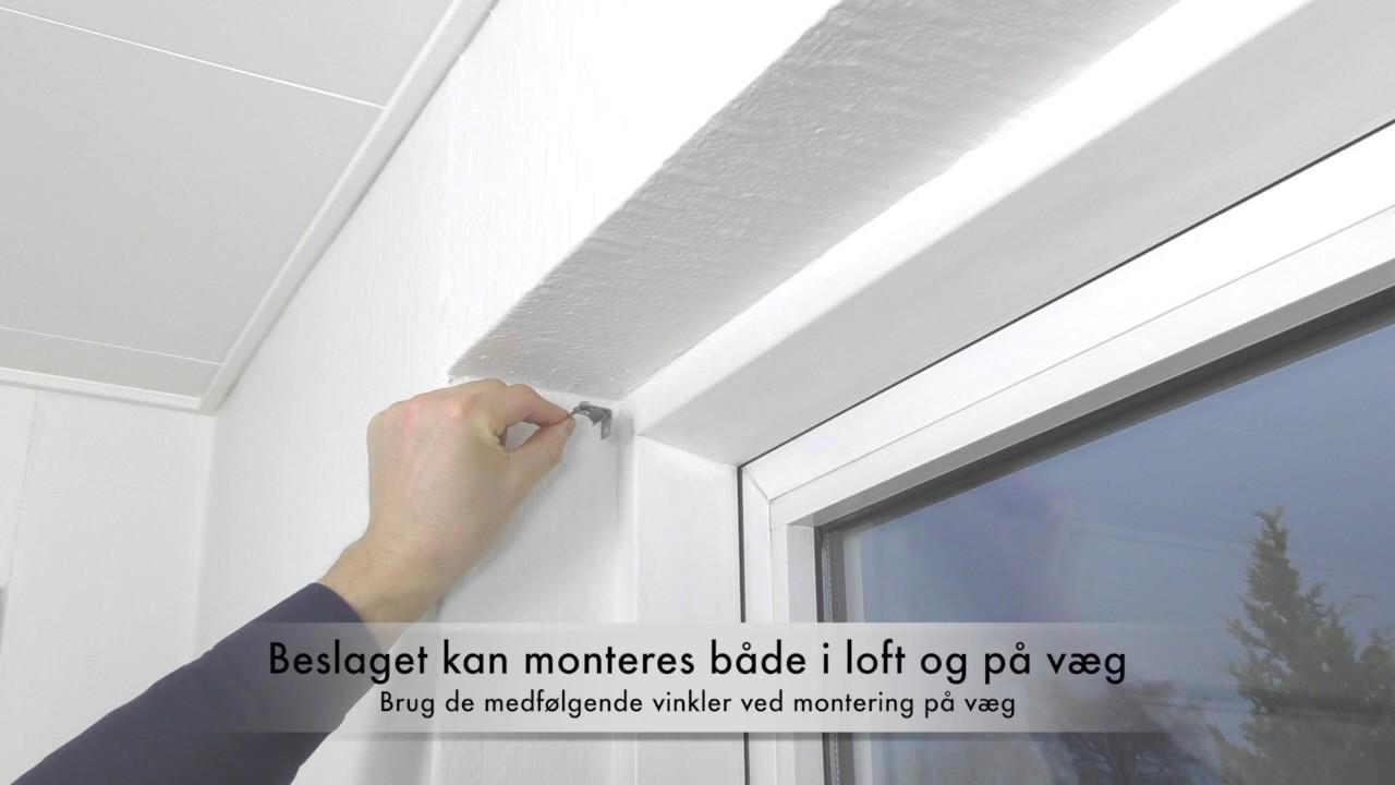 Siste Montering af Plisségardin AO28 fra Gardinshoppen.dk - YouTube PU-24