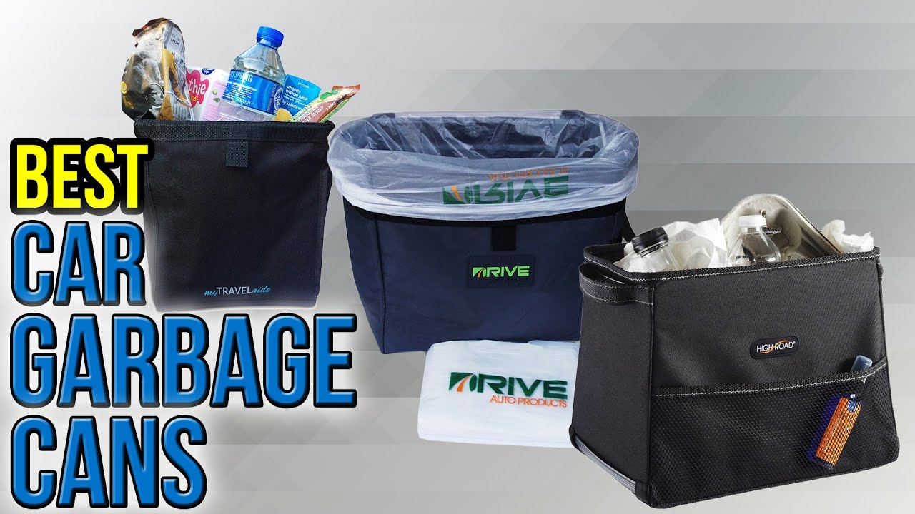 10 Best Car Garbage Cans 2017