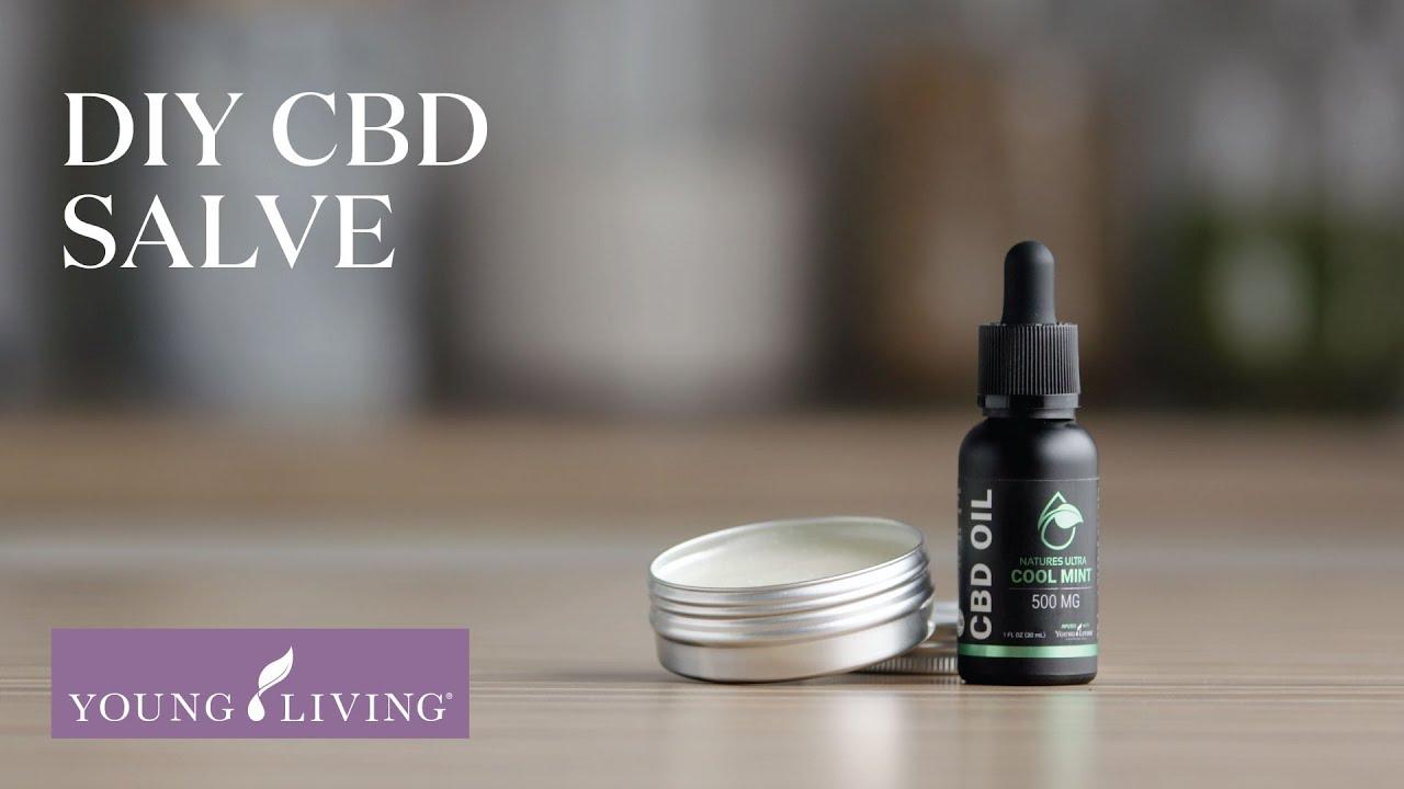 DIY CBD Salve   YouTube Living Essential Oils